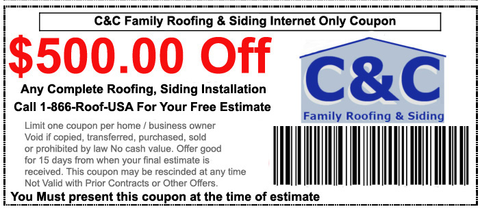 C&C Roofing Coupon